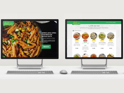 Food Booking Menu - UI/UX