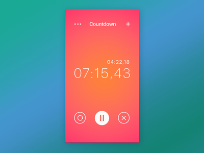 Daily UI Challenge 014 — Countdown Timer timer countdown interface userinterface uxdesign uidesign ux ui webdesign web dailyui014 dailyui