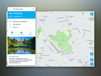 Daily UI Challenge 029 — Map