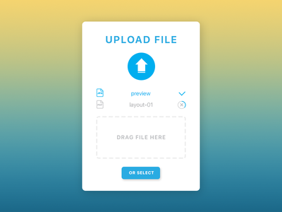 Daily UI Challenge 031 — File Upload