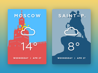 Daily UI Challenge 037 — Weather
