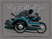 Ray LaMontagne Indianapolis, IN Poster