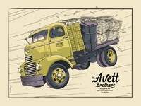 The Avett Brothers Sioux City, IA Poster