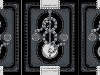 The Avett Brothers Las Vegas, NV Triptych