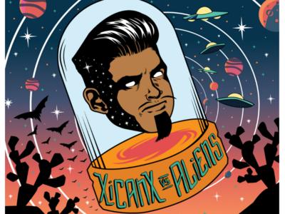 XICANX vs ALIEN Podcast Logo