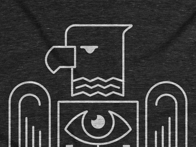 Brotherbird on CottonBureau illustration tshirt