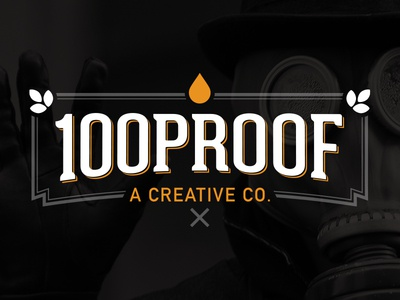 100 Proof Dribbble - Final Revision
