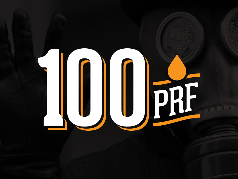 100 Proof - Yet another concept logo brand vintage typography