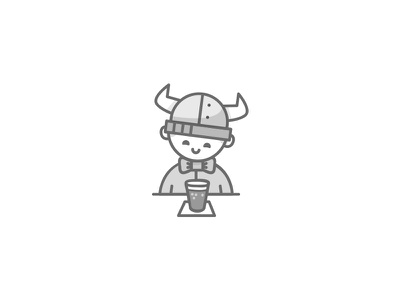 Looking good. Feeling good. character illustration