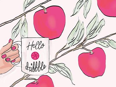 Hello Dribbble! hello