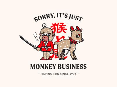 It's Just Monkey Business