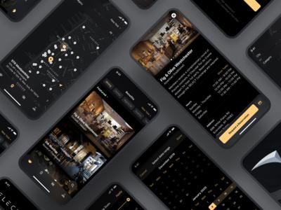 Meet Select App Interface