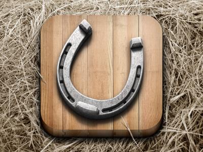 Horseshoe icon