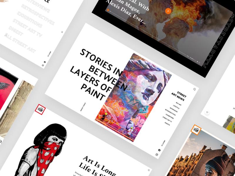 StreetArtNews Design
