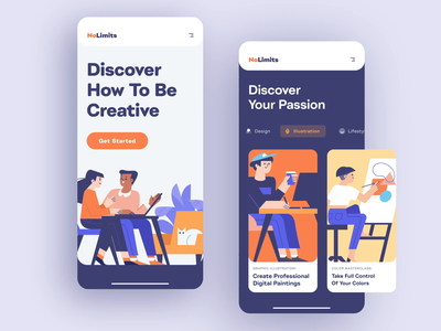 Online School App Animation student study learning platform online school online course illustrations intellectual education app application educational motion design motion app design design shakuro animation ios app ux ui