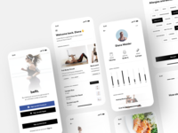 Health and Fitness App Design workout training mobile app design ios app interface health app app design activity tracking fitness app activity mobile concept design shakuro ios app ux ui