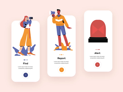 Collaborative Characters Animation illustration pack characters career mobile illustration adobe after effects animated illustrations motion art motion graphic motion motion design illustrations vector design animation illustration shakuro app ux ui