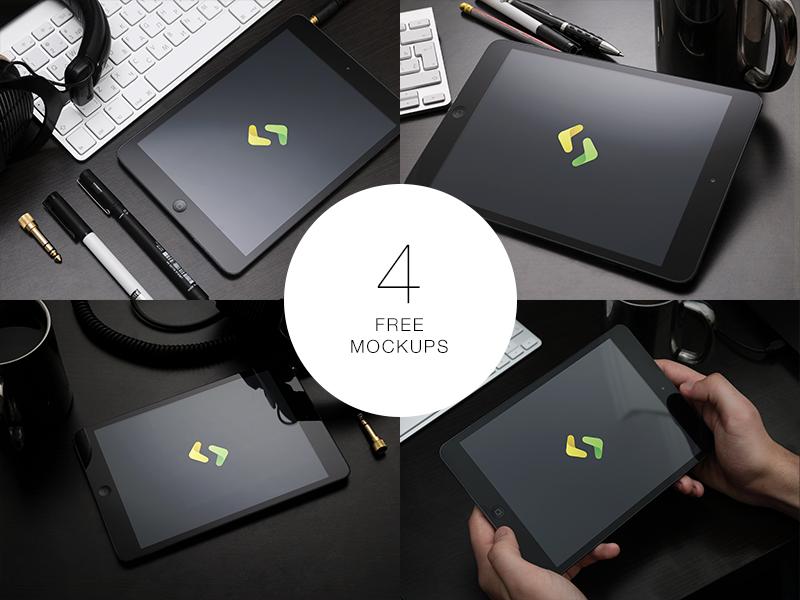 Free iPad mockups free mockup psd ipad