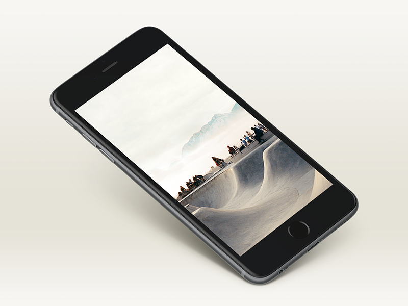 Free Awesome iPhone 6+ Mockup dailyui iphone freebie iphone 6 plus mockup black psd free