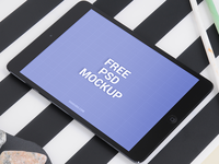 iPad Air free PSD
