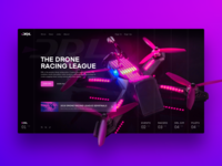 Drone Racing League Redesign Concept
