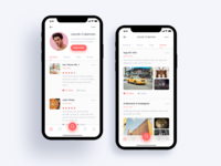 Horeca App Profile Concept