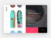Skate Store Decks Page Preview