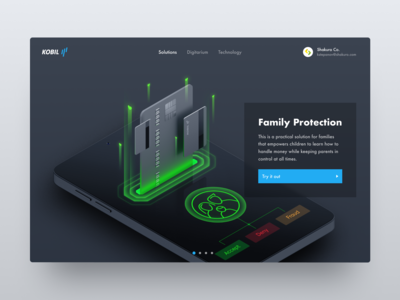 Financial Family Protection Technology