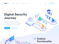 Digital Security Landing Page