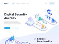 Digital Security Landing Page
