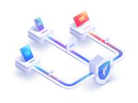 Digital Security Illustration