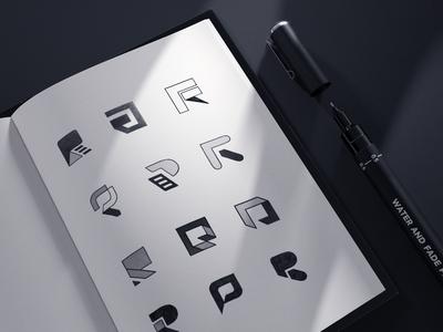 Logo Iteration Process