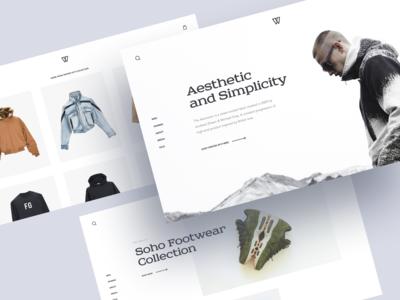 Street Fashion Store Concept