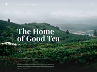 Tea Manufacturer Website Animation