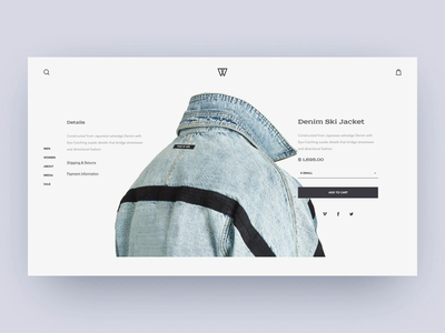 Street Fashion Product Page Animation shakuro web design ux ui transition street fashion wear represent fearofgod kith product page online store motion design laptop landing page home page e-commerce desktop concept clothes brand store brand collection animation