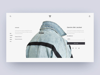 Street Fashion Product Page Animation