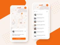 Cashierless Store Locator App