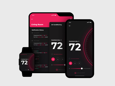 Cross-device App Morphing shakuro mobile animation samsung galaxy fold ios app motion design transition apple watch foldable phone smart home concept app iphone fold iphone x morphing ux ui