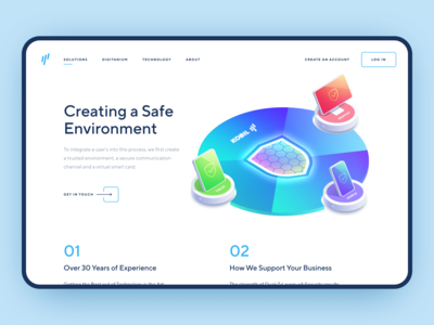 Data Protection & Security Web App