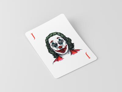 Joker Sketch Illustration