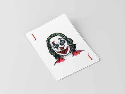 Joker Sketch Illustration joker card art sketching movie joker character design timelapse process video sketch illustration