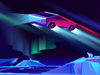 Cybertruck Illustration