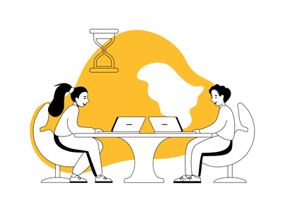 Business Illustration Set Animation shakuro workers people interaction transition illustration set illustration for web goods for sale teamwork business creative market set animated illustration animation illustration