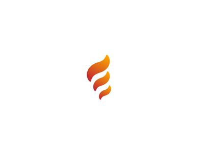 Unused Marque for Project Ember gradient marque icon branding fire flame identity logo