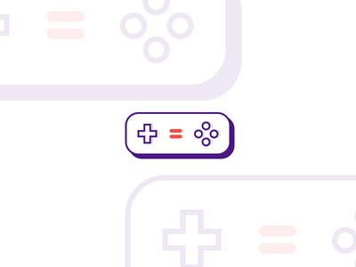 Game Controller WIP flat shadow wip icon controller games