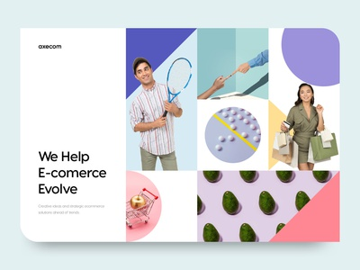 Ecommerce web design concept figma flat saas startup shop product ux landing page typography minimal design clean web website web design ecommerce store fashion
