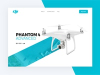 DJI Product Page Concept