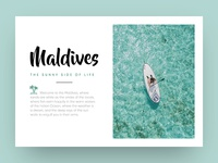 The Sunny Side Of Life - MALDIVES