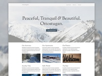 Ottostugan Website Re-Design