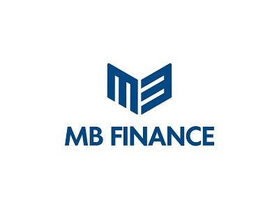 MB Finance finance simplicity animal logo blue fox